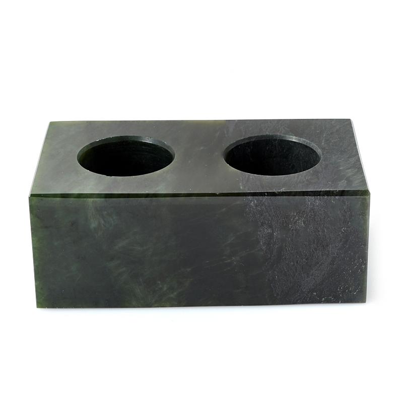 Гармонизатор на подставке микс нефрит, офиокальцит, чароит (комплект)