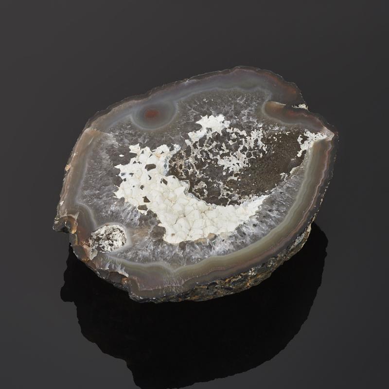 Жеода агат серый M (7-12 см)