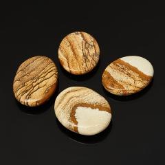 Гармонизатор яшма рисунчатая (песочная) Намибия 3,5-5 см