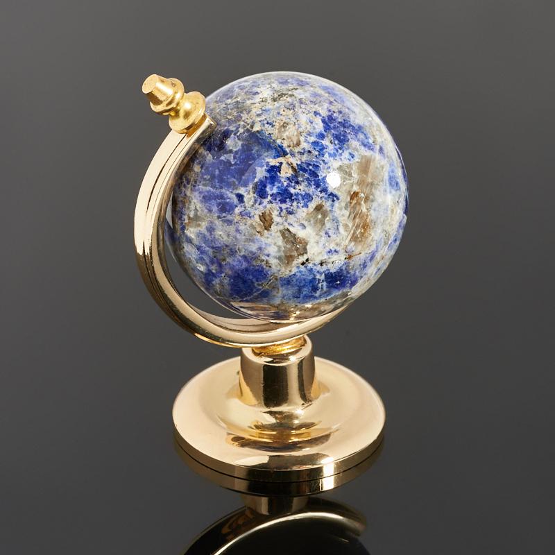 Глобус лазурит Россия 7 см