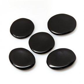 Гармонизатор обсидиан черный Мексика 4-5 см