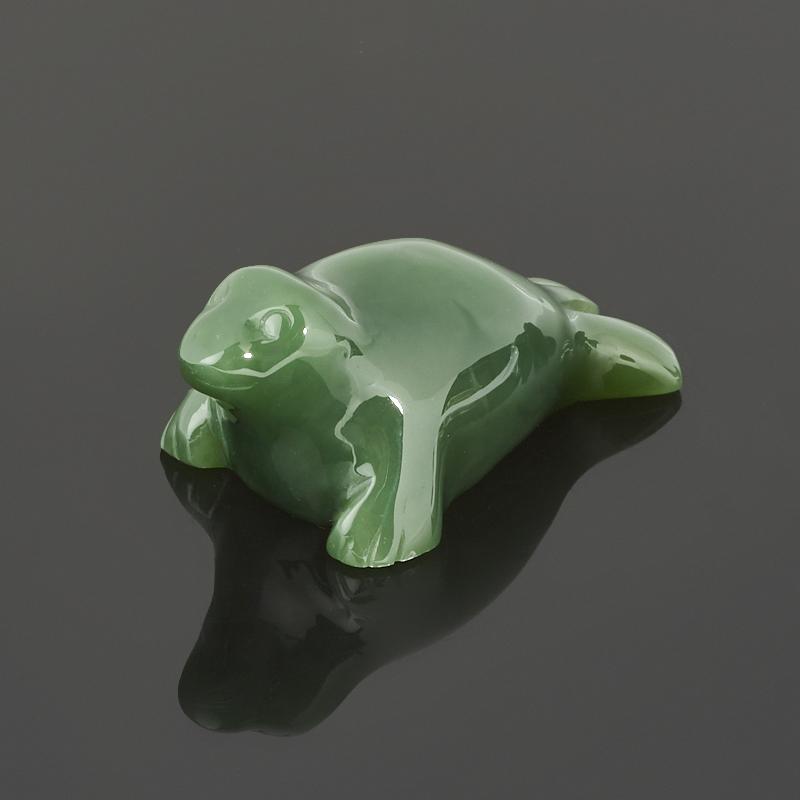 Тюлень нефрит зеленый 4,5 см