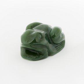 Лягушка нефрит зеленый Россия 6 см