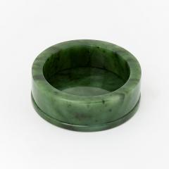 Подсвечник нефрит зеленый Россия 7,5 см