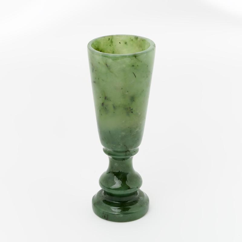 Посуда нефрит зеленый (рюмка) 3х9 см