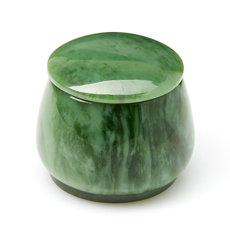Шкатулка нефрит зеленый 5х5,5 см шкатулка нефрит зеленый мельхиор 9 5х5 5х4 см