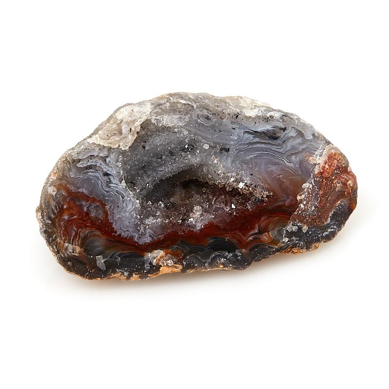Жеода агат серый S (4-7 см) лягушка агат серый 7 5 см