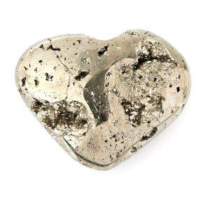 Сердечко пирит Перу 6,5 см