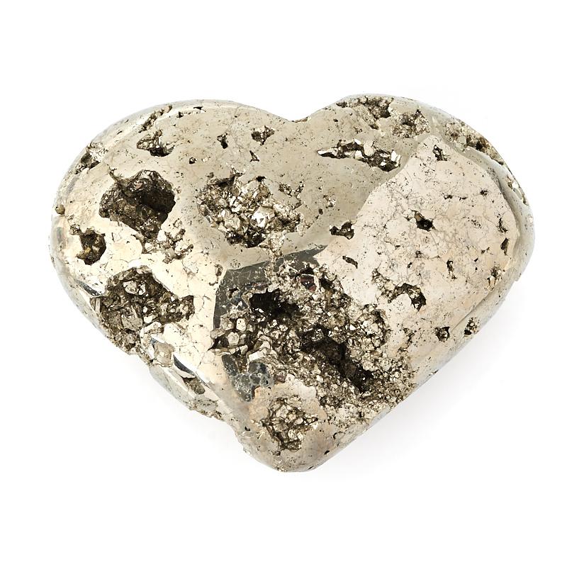 Сердечко пирит 6,5 см