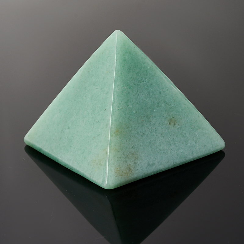Пирамида авантюрин зеленый 5 см