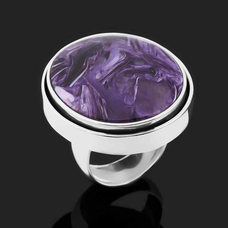 Кольцо чароит (серебро 925 пр. оксидир.) размер 18 кольцо чароит серебро 925 пр оксидир размер 18