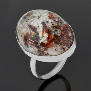 Кольцо астрофиллит (дублет) Россия (нейзильбер) размер 18,5