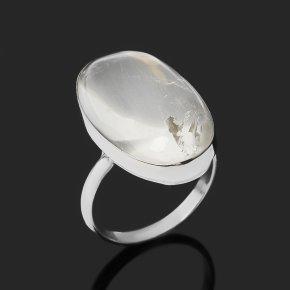 Кольцо горный хрусталь Казахстан (нейзильбер) размер 17,5