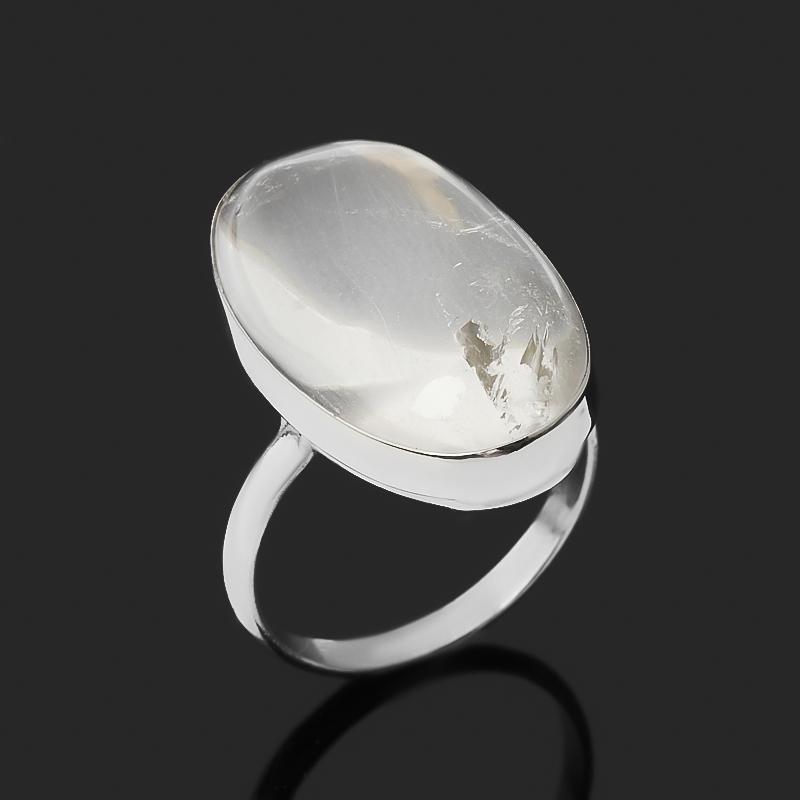 Кольцо горный хрусталь (нейзильбер) размер 17,5
