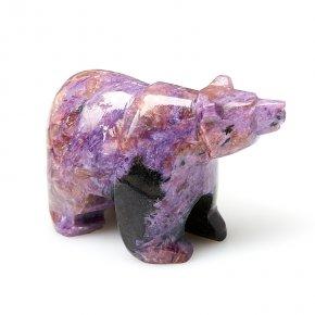 Медведь чароит Россия 6,5 см
