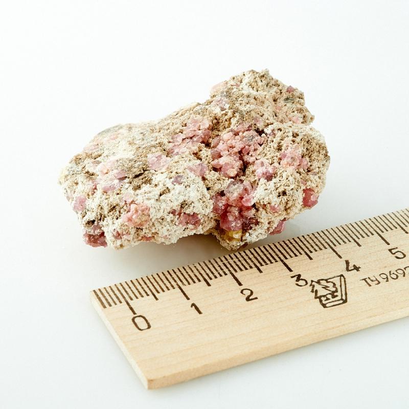 Гранат Альмандин в породе Мексика 51х39х16 мм