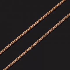 Цепь (серебро 925 пр. позолота) полновесная 50 см