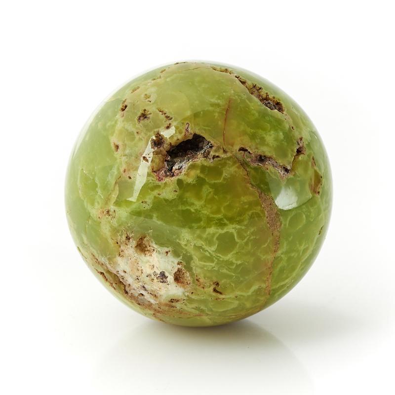 Шар опал фисташковый Мадагаскар 5,5 см
