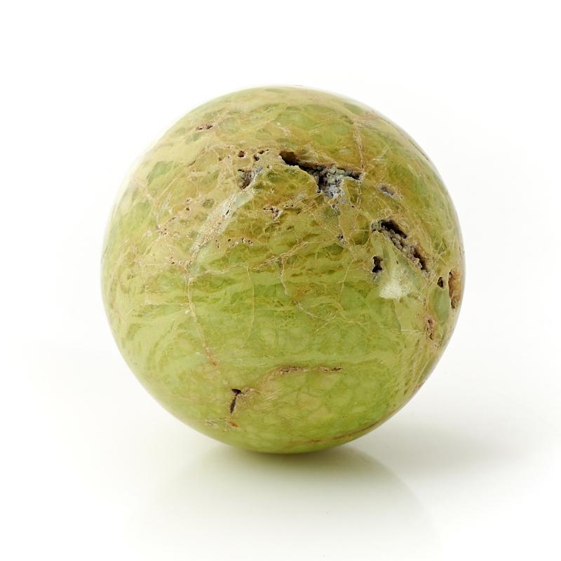 Шар опал фисташковый Мадагаскар 6 см