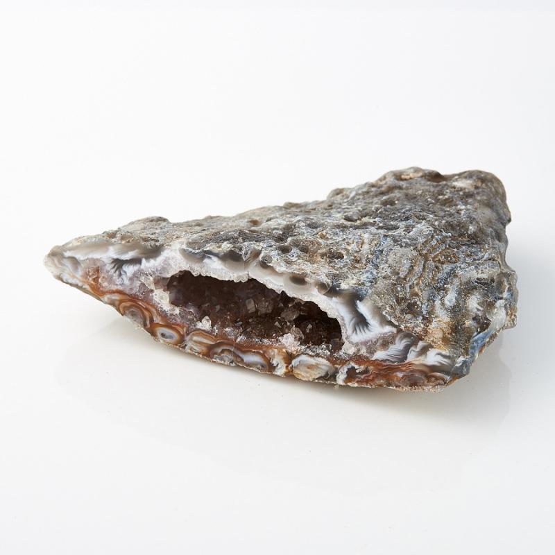 Жеода агат с кварцем  S