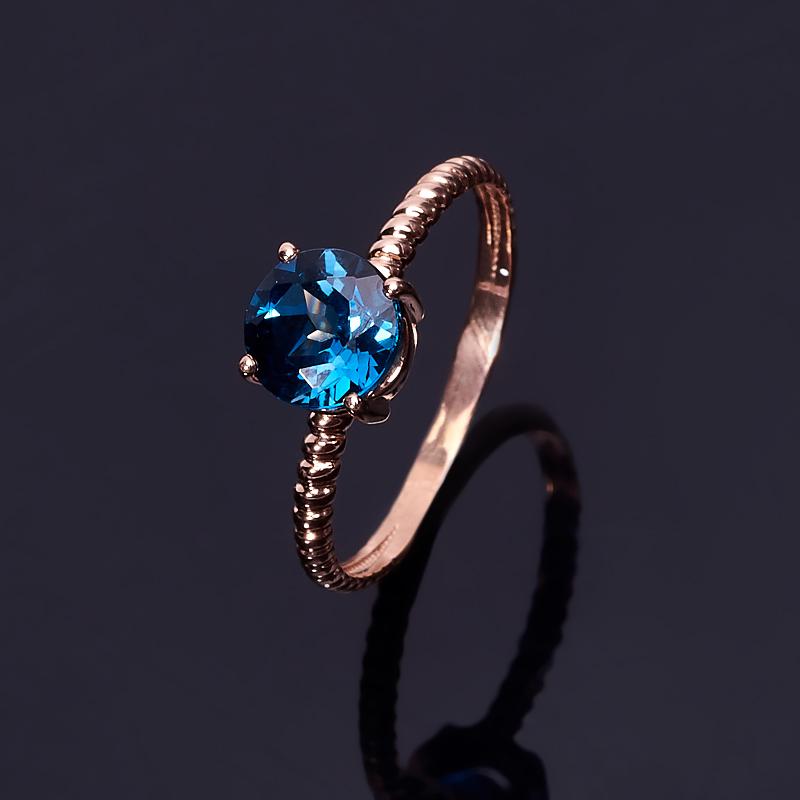 Кольцо топаз лондон (серебро 925 пр. позолота) огранка размер 17 кольцо топаз лондон огранка серебро 925 пр позолота размер 19