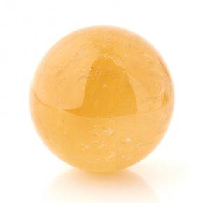 Шар кальцит желтый 7,5 см