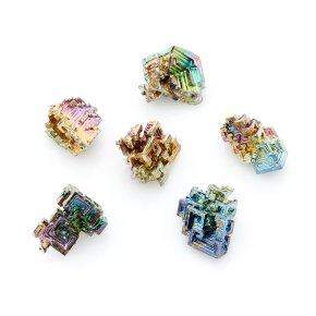 Кристалл висмут (лабораторный) Германия (1,5-2 см) (1 шт)