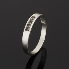 Кольцо бриллиант Россия (серебро 925 пр.) огранка размер 19