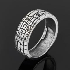 Кольцо бриллиант Россия (серебро 925 пр. родир. бел.) размер 20,5