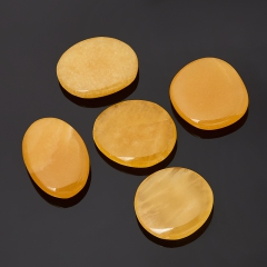 Галтовка кальцит желтый Китай XS (3-4 см) (1 шт)
