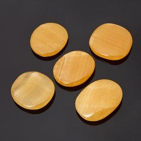 Галтовка кальцит желтый Китай S (4-7 см) (1 шт)