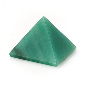 Пирамида авантюрин зеленый Индия 4 см