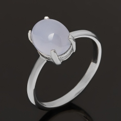 Кольцо агат сапфирин Намибия (серебро 925 пр.) размер 18,5