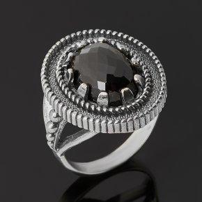 Кольцо шпинель Шри Ланка (серебро 925 пр. оксидир.) огранка размер 18,5