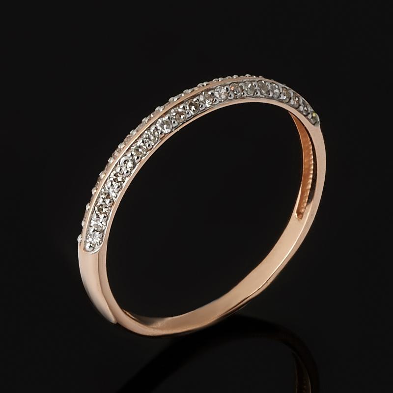 Кольцо бриллиант Россия (золото 585 пр. родир. бел.) огранка (обручальное) размер 18