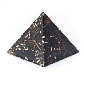 Пирамида симбирцит, окаменелость Россия 9,5 см
