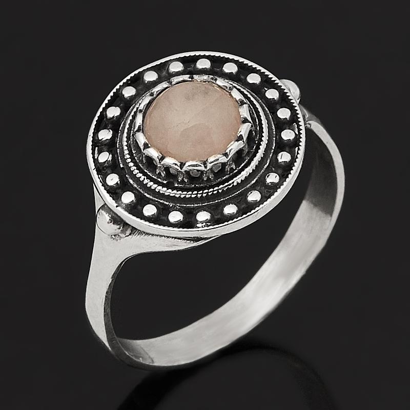 Кольцо розовый кварц (серебро 925 пр. оксидир.) размер 17,5 кольцо розовый кварц серебро 925 пр оксидир размер 18