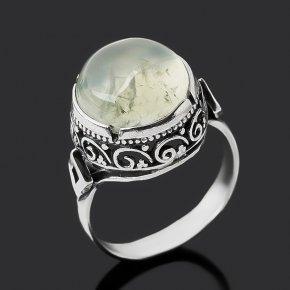 Кольцо пренит ЮАР (серебро 925 пр. оксидир.) размер 17,5