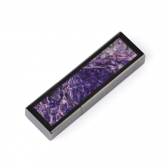USB-флеш-накопитель микс долерит, чароит 32 Гб