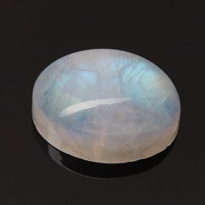 Кабошон лунный камень (адуляр) Индия (1 шт) 10*14 мм