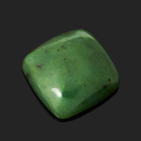Кабошон нефрит зеленый Россия 13*13 мм