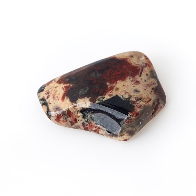 Галтовка яшма красная ЮАР (0,5-1 см) (1 шт)