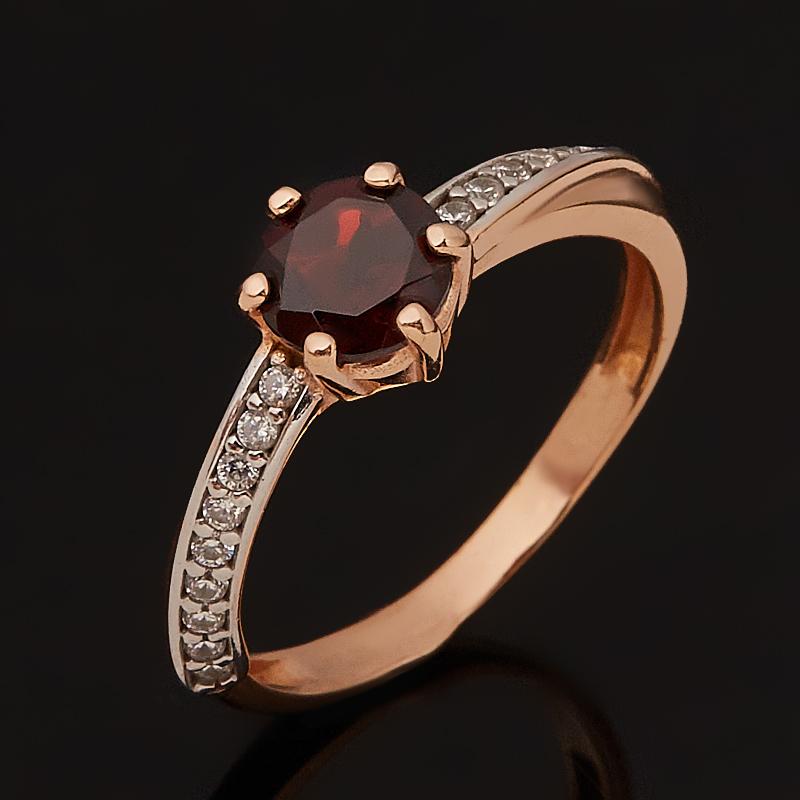 Кольцо гранат альмандин (серебро 925 пр. позолота) огранка размер 17 кольцо гранат альмандин огранка серебро 925 пр позолота размер 17