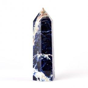 Кристалл содалит Бразилия (ограненный) XXL (от 20 см) (1 шт)