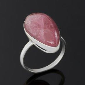 Кольцо турмалин розовый (рубеллит) Россия (серебро 925 пр.) размер 17