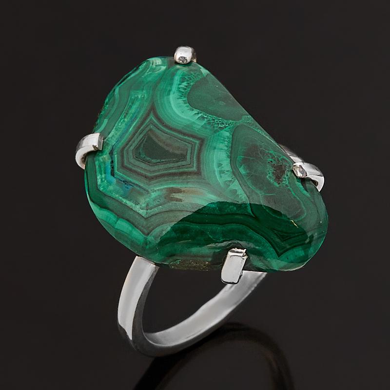 Кольцо малахит (серебро 925 пр.) размер 17 эпл якутские бриллианты кольцо э10к071561 17 0 0 325 размер 17