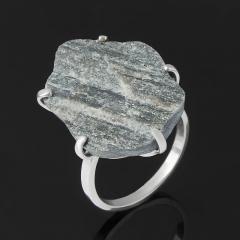 Кольцо авантюрин черный Россия (серебро 925 пр.) размер 18,5