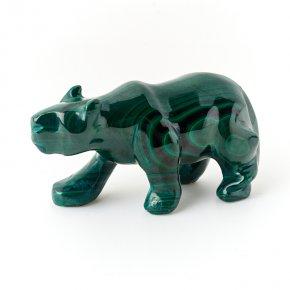 Медведь малахит Конго 9,5 см