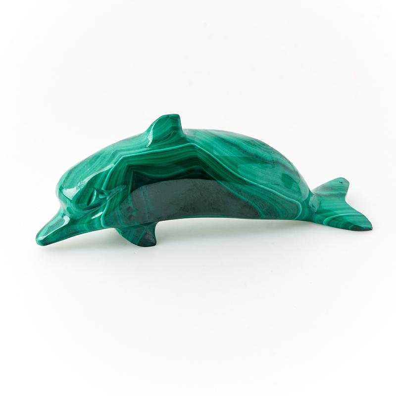 Дельфин малахит 9,5 см