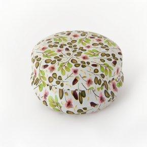Шкатулка для хранения камней / украшений (зеленый) 4х2 см